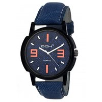 DCH IN-32 Blue Denim Analog Watch For Boys  Men