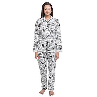 Nite Flite Womens London Paris Cotton Pyjama Set