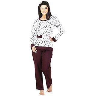 Nite Flite Womens Pretty Bows Pyjama Set