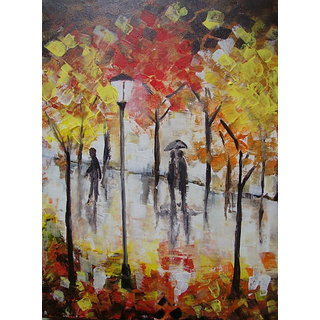 Rain Walk Painting