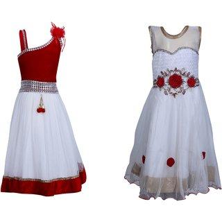 80d0e2d82d8 Buy Qeboo Girls Party Wear Dress Combo Online - Get 81% Off