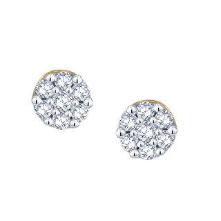 Nakshatra Diamond Earrings Ie022
