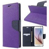 Micromax Canvas Fire 4 A107 Flip Cover By  - Purple