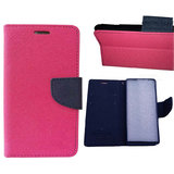 Lenovo S660 Flip Cover By  - Pink