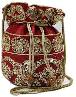 NGT Online Party Wear Potli Bag for Ladies