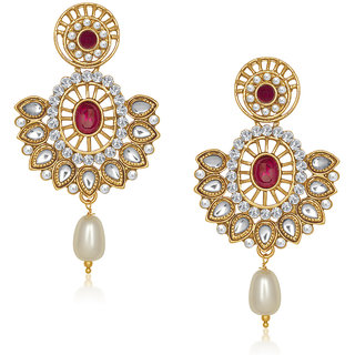 VK Jewels Admirable Earring set -ERZ1145G [VKERZ1145G]