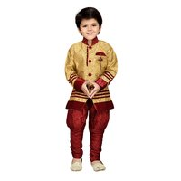 AJ Dezines Kids Sherwani Set for Baby Boys