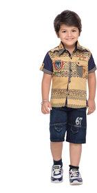 AJ Dezines Boys Shirt and Shorts Set
