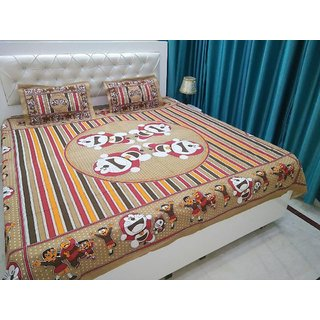 Attractivehomes beautiful cotton bedsheet