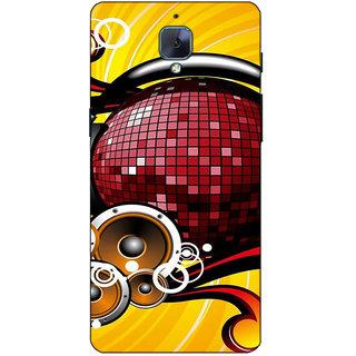 Fuson Designer Back Case Cover For OnePlus 3 :: OnePlus Three :: One Plus 3 (Sound Music Theme)