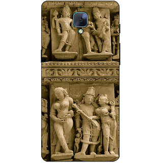 Fuson Designer Back Case Cover For OnePlus 3 :: OnePlus Three :: One Plus 3 (Stone Crafts God Godess )