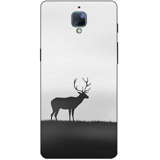 Fuson Designer Back Case Cover For OnePlus 3 :: OnePlus Three :: One Plus 3 (Rain Deer Image Ground )