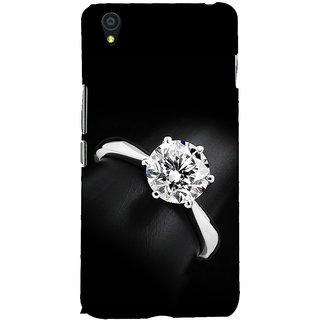 Fuson Designer Back Case Cover For OnePlus X :: One Plus X (A Diamond Ring Theme)