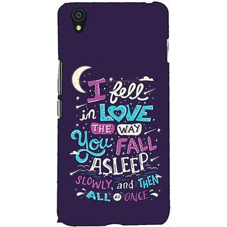 Fuson Designer Back Case Cover For OnePlus X :: One Plus X (I Fell In Love Theme)