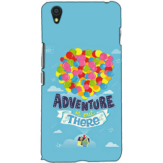 Fuson Designer Back Case Cover For OnePlus X :: One Plus X (Adventure Is Out There)
