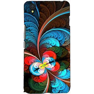 Fuson Designer Back Case Cover For OnePlus X :: One Plus X (Colourful Designer Theme)