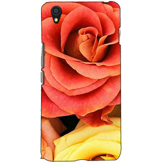 Fuson Designer Back Case Cover For OnePlus X :: One Plus X (Beautiful Flower Rose Theme)