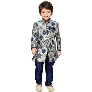 AJ Dezines Boys Indo Western Sherwani Suit for Kids