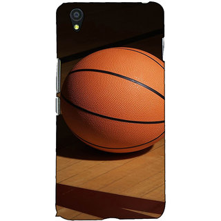 Fuson Designer Back Case Cover For OnePlus X :: One Plus X (Basket Ball Game Play)