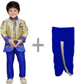 AJ Dezines Baby Boys Indo Western Kurta Dhoti Pant Set for Kids