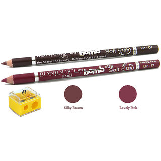 Bonjour Paris Perfect Pout Lip Liner + Sharpener