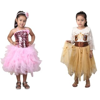 83b77c03b26 Buy Qeboo Girls Party Wear Dress Online - Get 79% Off
