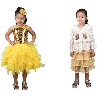 9e4f27c6a39 Buy Qeboo Girls Party Wear Dress Online - Get 78% Off