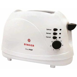 Singer Duo Pop 700 W Pop Up Toaster
