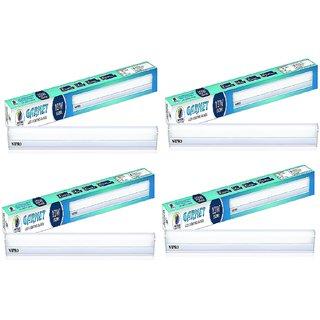 Pack of 4 Wipro 2 Feet 10W LED Batten - White