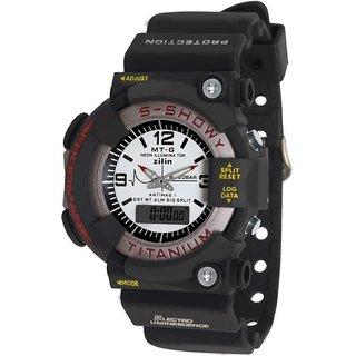BigW Trendy S Shock Sports Dual Time Analog And Digital Watch For Men