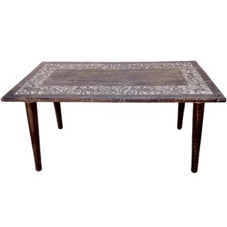 Wagon wooden center table / wooden coffee table / wooden elephant table / wooden foldable table