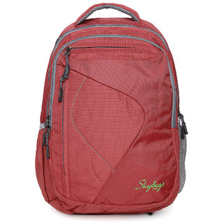 1d7bf480ee Buy Skybags Dunk 02 Laptop Backpack Red Online   ₹2490 from ShopClues