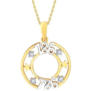 11 Diamonds 925 Sterling Silver Pendant ED925YDDP02632XJK