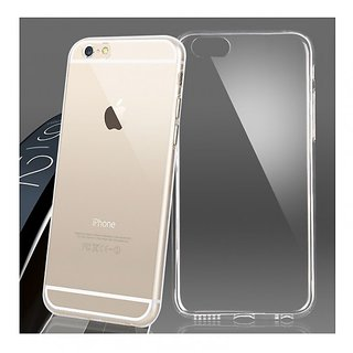 iPhone 6 / 6s Ultra Thin Soft Transparent TPU Silicone Back Case Cover - White