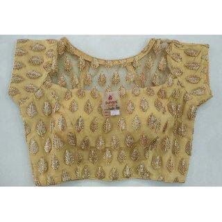 701df4c00e7f2b Buy Gotta Patti Work Golden Designer Blouse Online   ₹1000 from ...