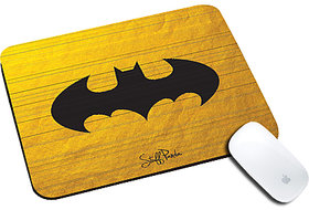 Cool design Funky Abstract Batman shutter natural rubber mouse pad
