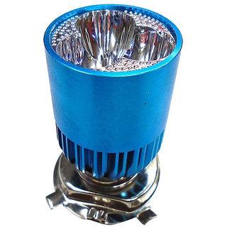 VMASHOPPERS H4 3Led Super White Headlight Bulb For Bajaj Discover 150