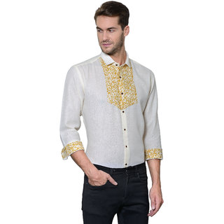 Edjoe Men's Color Fit Casual Shirt