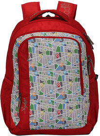 Skybags Footloose Helix 03 Red