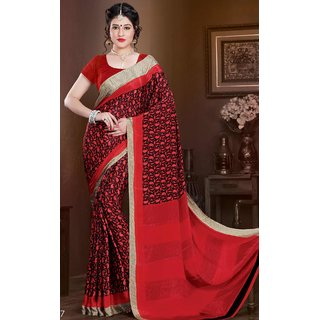 SILK TOUCH6 LATEST SAREE-Multicolor-MSC237-VN-Crepe