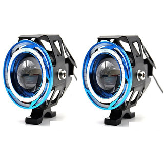 VMA SHOPPERS HIGH INTENSITY U11 LENS  PROJECTOR WITH DOUBLE COB RING FOG LIGHT For  Honda Cbr 150R