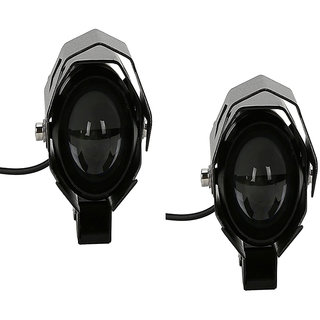 VMA SHOPPERS MULTI MODE CREE U9 LED PROJECTOR FOG LIGHT  For  Hero MotoCorp Splendor Ismart