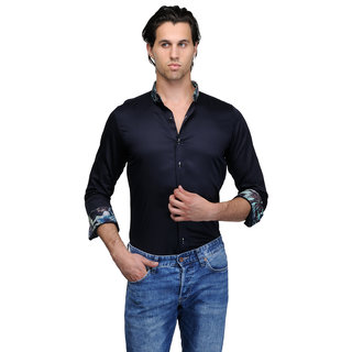 Edjoe Men's Color Fit Casual Shirt