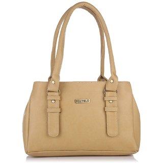 Women 's Beige Shoulder Bag