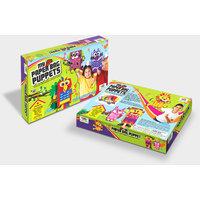 Art & Craft Toys- My Paper Bag Puppets, Art & Craft Kit Toys For Kids,Craft Kit