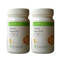 Herbalife 50g Afresh Energy Drink Mix Lemon Flavour Powder - Pack of 2