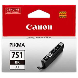 Canon CLI-751 BK XL For IP7270/8770, MG5670/ 5570/ 5470/ 6670/6470/6370/7570/7170, MX 927, IX6770/6870/