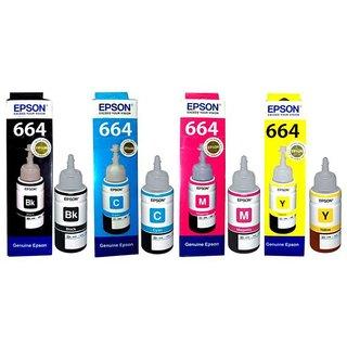 Buy Epson Ink Bottles- Set of 4 Online - Get 70% Off