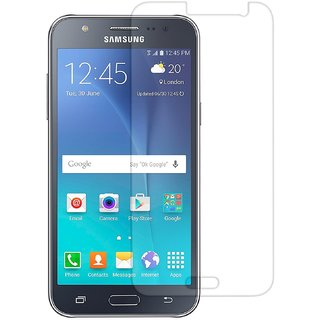 Premium Ballistic Tempered Glass Screen Protector for Samsung Galaxy J7 (No Fingerprints Anti-Scratch Oil Coated Washabl
