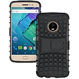 Motorola Moto G5 Plus Defender Case Hard Rugged Armor Back Cover with KickStand